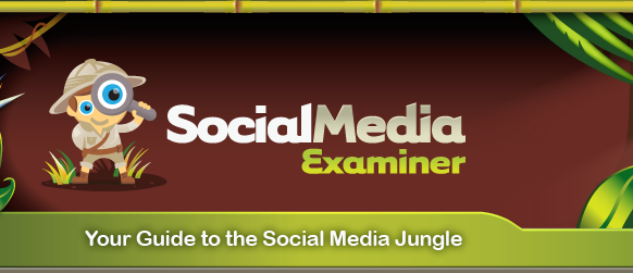 Social Media Examiner 2 inBlurbs Blog ist nominiert als einer von 20 Finalisten von Social Media Examiner