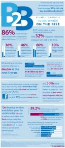 facebook marketing,b2b social media marketing infographic