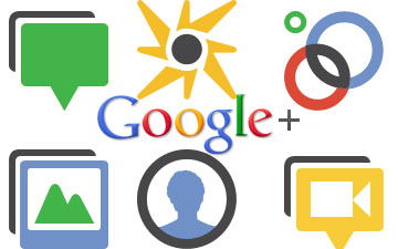 Google +, Unternehmen in Social Media