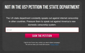 Petition the state department