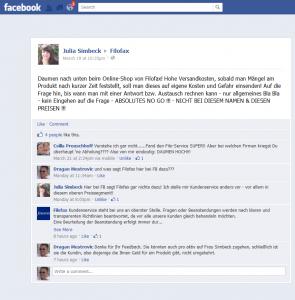 filofax auf facebook