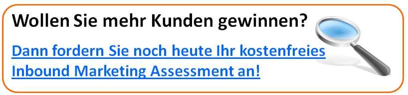 inbound marketing assessment de3 Mehr Kunden gewinnen durch Content Marketing
