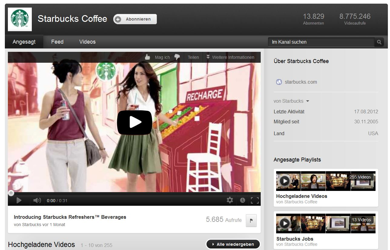 6 Gründe warum Starbucks Marketing so effektiv ist