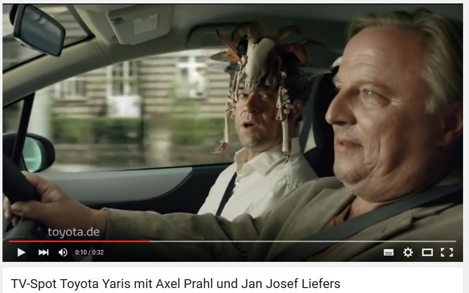 Toyota Tv Spot mit Jan Josf Leifers und Axel Prahl, Verstärken Sie Ihre Content Strategie mit Influencer Marketing, inblurbs
